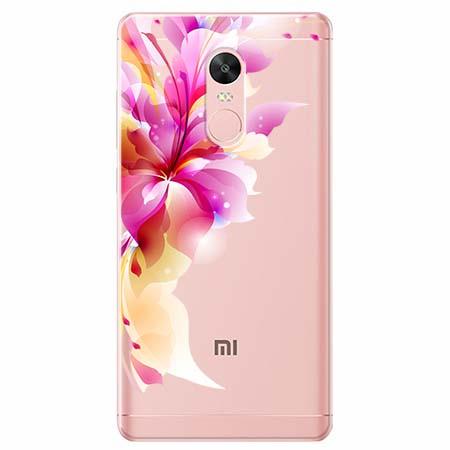 Etui na telefon Xiaomi Redmi 5 - Bajeczny kwiat.