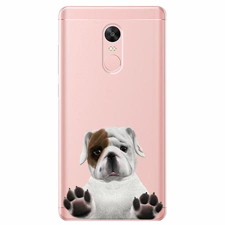 Etui na telefon Xiaomi Redmi 5 - Słodki szczeniaczek.