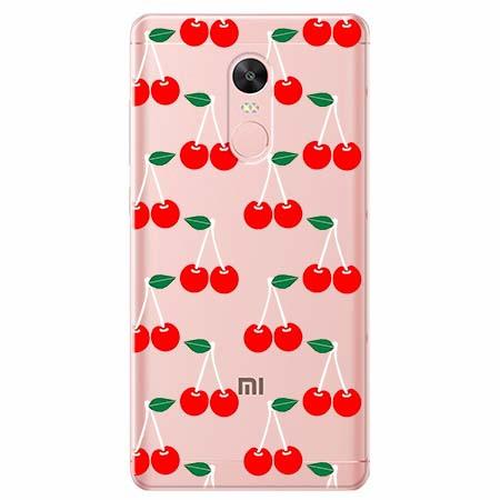 Etui na telefon Xiaomi Redmi 5 - Wiśniowa plejada.