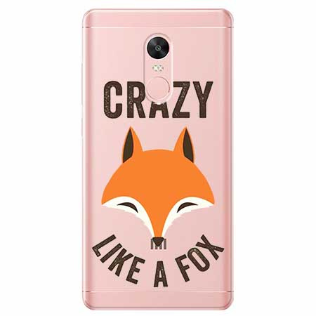 Etui na telefon Xiaomi Redmi 5 - Crazy like a fox.