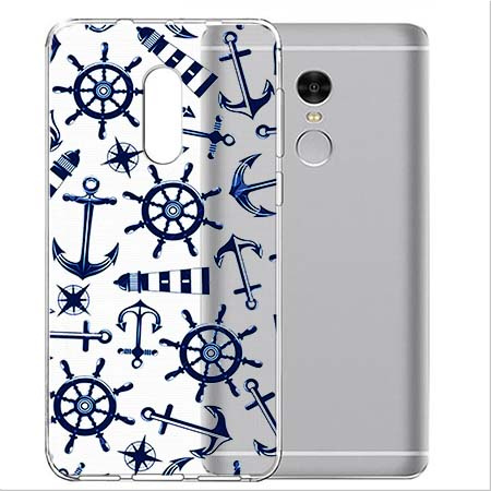 Etui na telefon Xiaomi Redmi 5 - Ahoj wilki morskie.