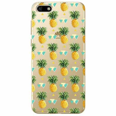 Etui na telefon Huawei Y5 2018 - Ananasowe szaleństwo.