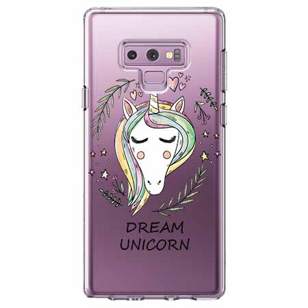 Etui na Samsung Galaxy Note 9 - Dream unicorn - Jednorożec.