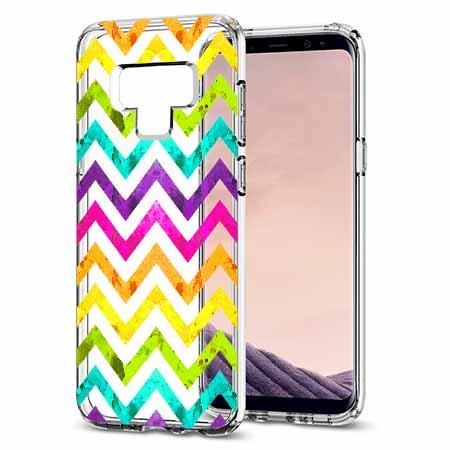 Etui na Samsung Galaxy Note 9 - Tęczowy przeplataniec.