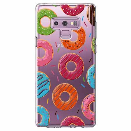 Etui na Samsung Galaxy Note 9 - Lukrowane pączki.