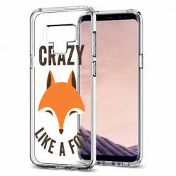 Etui na Samsung Galaxy Note 9 - Crazy like a fox.