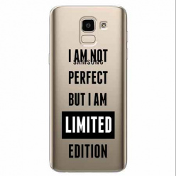 Etui na Samsung Galaxy J6 2018 - I Am not perfect…