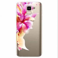 Etui na Samsung Galaxy J6 2018 - Bajeczny kwiat.