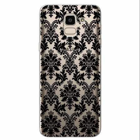 Etui na Samsung Galaxy J6 2018 - Damaszkowa elegancja.