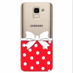 Etui na Samsung Galaxy J6 2018 - Gustowna kokardka.
