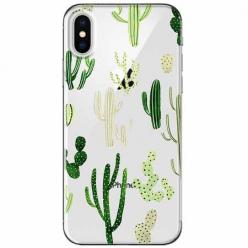 Etui na telefon Apple iPhone XS Max - Kaktusowy ogród.