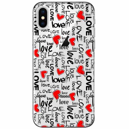 Etui na telefon Apple iPhone XS Max -  Love, love, love…