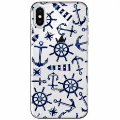 Etui na telefon Apple iPhone XS Max - Ahoj wilki morskie.
