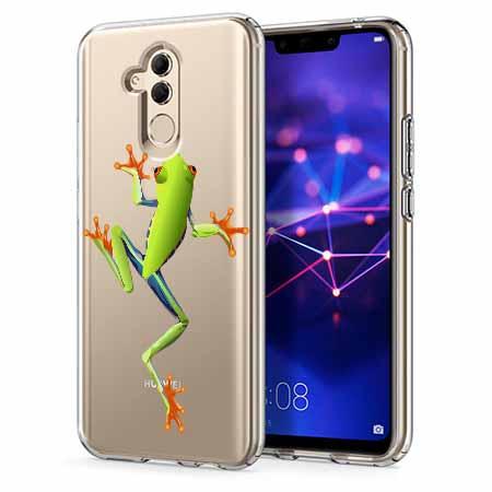 Etui na telefon Huawei Mate 20 Lite - Zielona żabka.