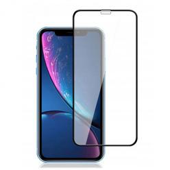 Apple iPhone XS Max hartowane szkło 5D Full Glue - Czarny.