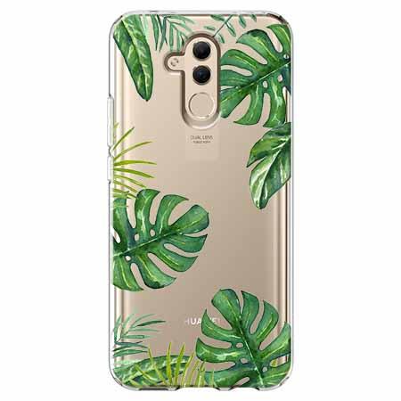 Etui na telefon Huawei Mate 20 Lite - Egzotyczne liście monstery