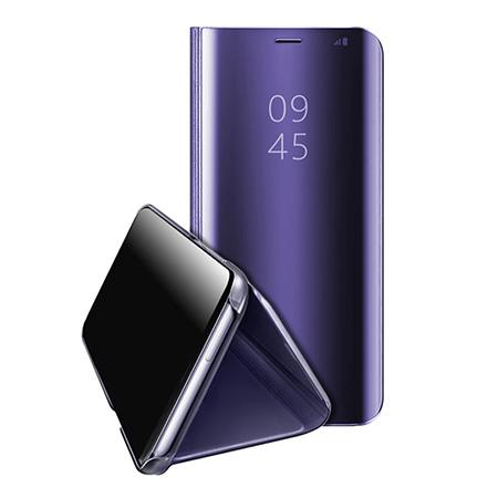 Etui na Huawei Mate 20 Lite - Flip Clear View z klapką - Fioletowy.