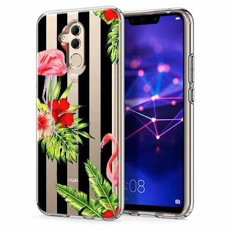Etui na telefon Huawei Mate 20 Lite - Opowieści flamingów.