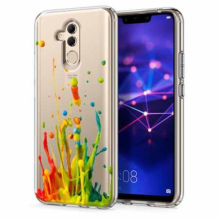 Etui na telefon Huawei Mate 20 Lite - Kolorowy splash.