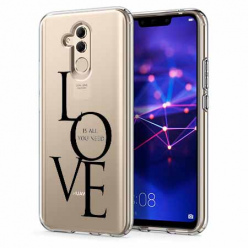 Etui na telefon Huawei Mate 20 Lite - All you need is LOVE.
