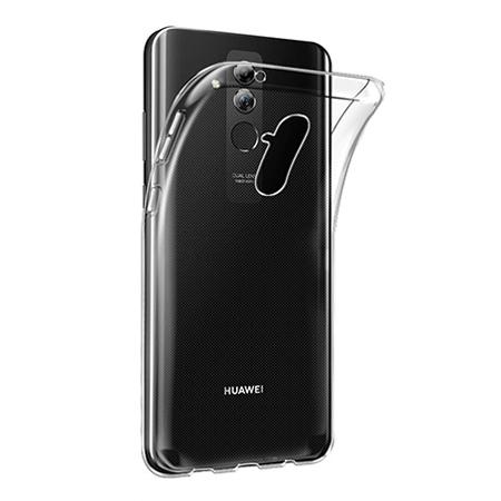 Etui na Huawei Mate 20 Lite - silikonowe crystal case - bezbarwne.