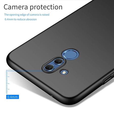Etui na telefon Huawei Mate 20 Lite - Slim MattE - Czarny.
