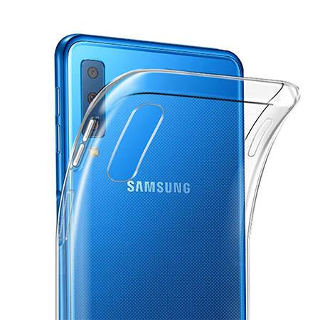 Etui na Samsung Galaxy A7 2018 - Gustowna kokardka.