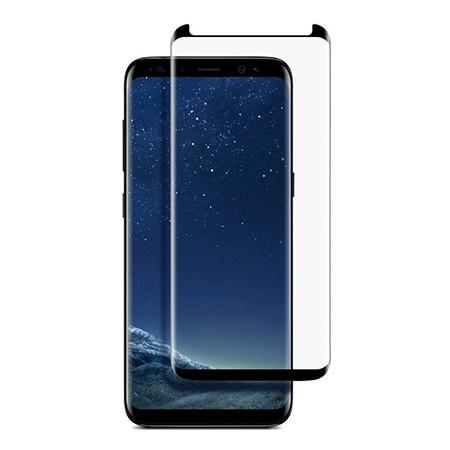 Samsung Galaxy S8 - hartowane szkło 5D na cały ekran - Czarny.