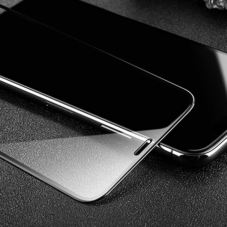 Apple iPhone X hartowane szkło 5D Full Glue - Czarny.