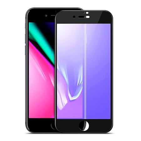 REMAX hartowane szkło na cały ekran  3D Anti-Blue Ray - iPhone 7 Plus - Czarny.