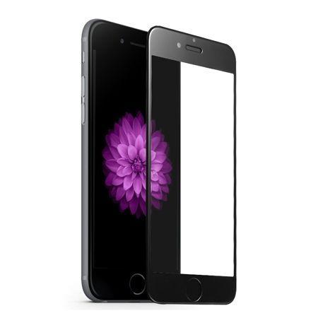 Apple iPhone 7 Plus - hartowane szkło 5D na cały ekran - Czarny.