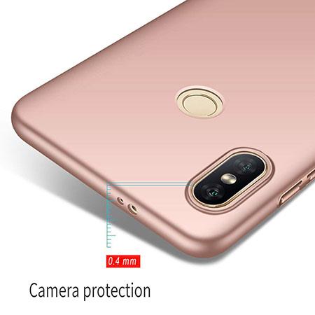 Etui na telefon Xiaomi Redmi S2 - Slim MattE - Różowy.