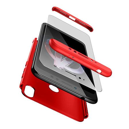 Etui na telefon Xiaomi Redmi S2 - Slim MattE 360 - Czerwony.
