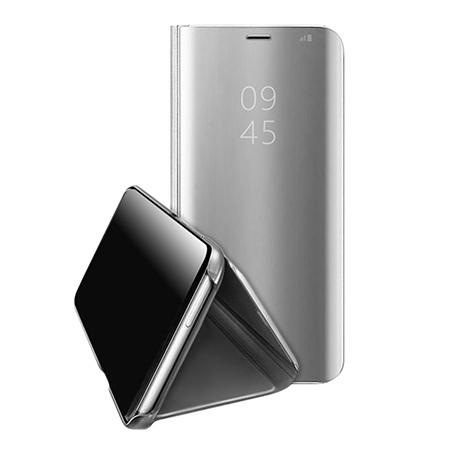 Etui na Xiaomi Mi A2 Lite - Flip Clear View z klapką - Srebrny.