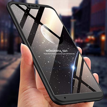 Etui na telefon Xiaomi Mi A2 Lite - Slim MattE 360 - Czarny.