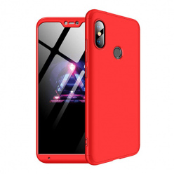 Etui na telefon Xiaomi Mi A2 Lite - Slim MattE 360 - Czerwony.