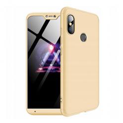 Etui na telefon Xiaomi Mi A2 Lite - Slim MattE 360 - Złoty.