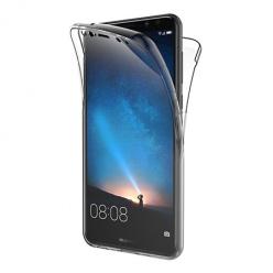 Etui na Huawei Mate 10 Lite - silikonowe 360 Full przód i tył - przezroczyste.