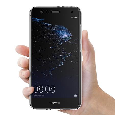 Etui na Huawei P10 Lite - silikonowe 360 Full przód i tył - przezroczyste.