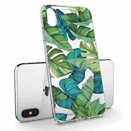 Etui na telefon Apple iPhone X - Wyprawa do jungli.