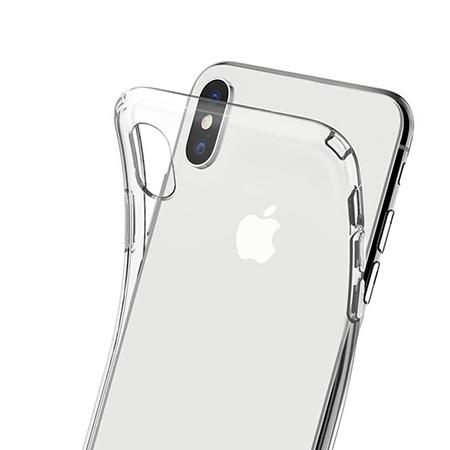 Etui na telefon Apple iPhone X - Tęczowy przeplataniec.