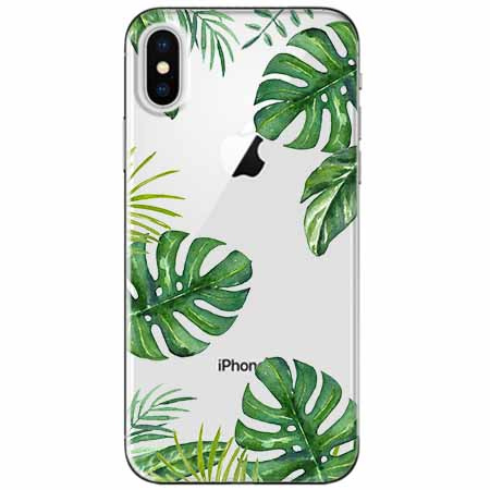 Etui na telefon Apple iPhone X - Welcome to the jungle.