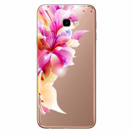 Etui na Samsung Galaxy J4 Plus - Bajeczny kwiat.
