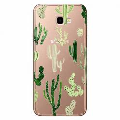 Etui na Samsung Galaxy J4 Plus - Kaktusowy ogród.