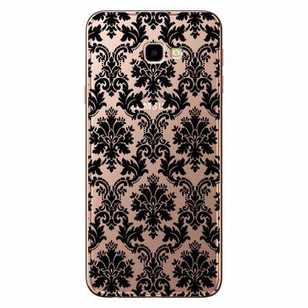 Etui na Samsung Galaxy J4 Plus - Damaszkowa elegancja.