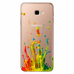 Etui na Samsung Galaxy J4 Plus - Kolorowy splash.