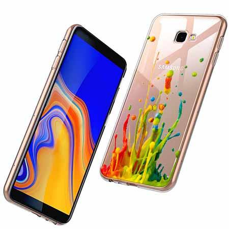 Etui na Samsung Galaxy J4 Plus - Kolorowy splash.