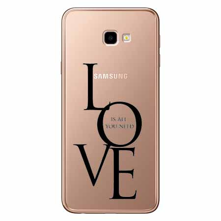 Etui na Samsung Galaxy J4 Plus - All you need is LOVE.