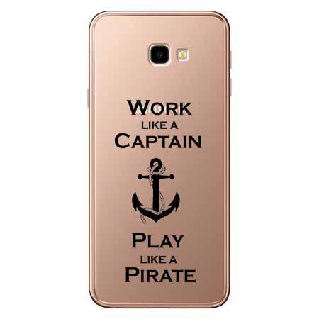 Etui na Samsung Galaxy J4 Plus - Work like a Captain…