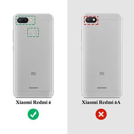 Etui na Xiaomi Redmi 6 - Złota czterolistna koniczyna.